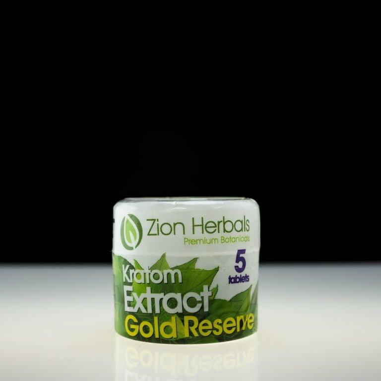 Zion Herbals Gold Reserve Kratom Extract 5ct