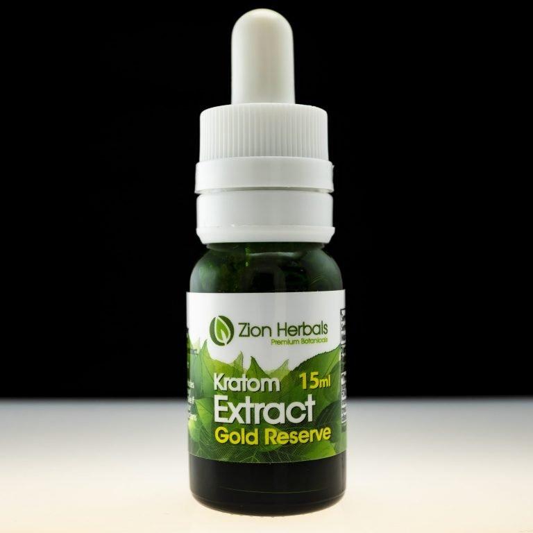 Zion Herbals Kratom Extract Gold Reserve 15ml