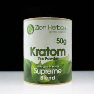 Zion Herbals Supreme Blend Kratom Powder 50g