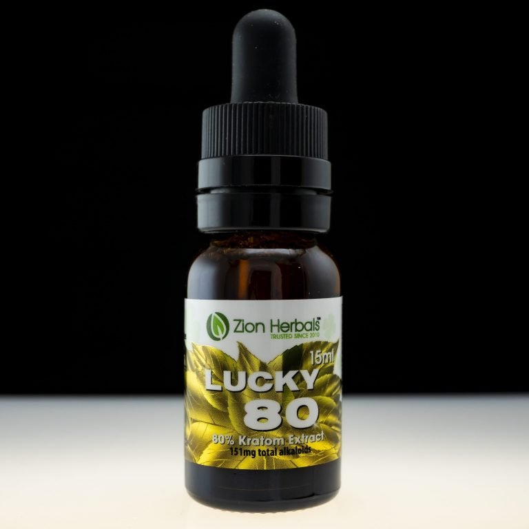 Zion Herbals Lucky 80 Kratom Extract