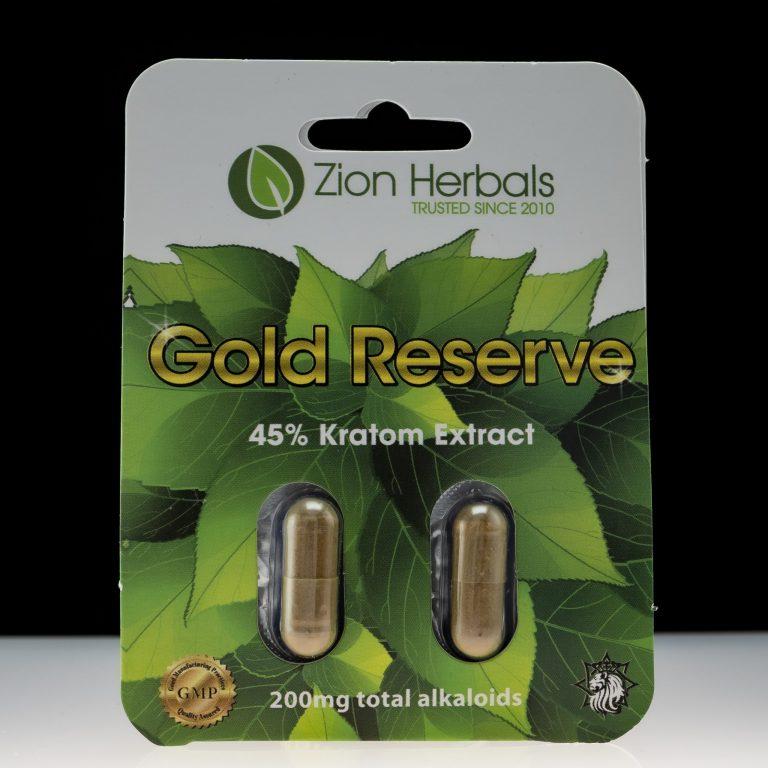 Zion Herbals Kratom Extract Gold Reserve 45% Extract