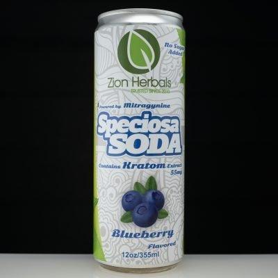 Zion Herbals Speciosa Soda Blueberry