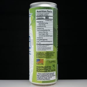 Zion Herbals Speciosa Soda Blueberry available at Black Label Kratom