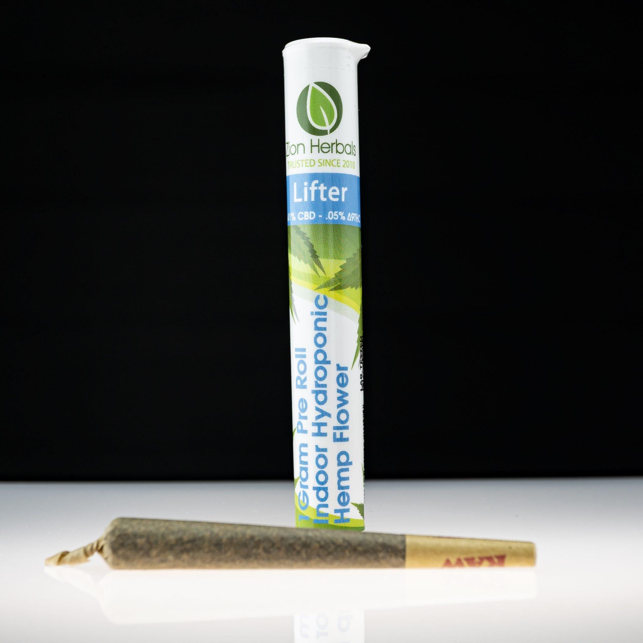 Zion Herbals Lifter CBD Pre roll