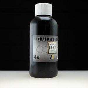 Black Label Kratom Extract 4oz V1