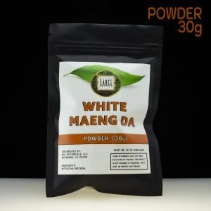 Black Label Kratom White Maeng Da powder 30g