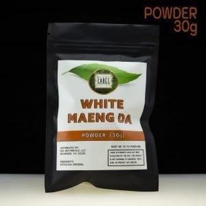 Black Label Kratom White Maeng Da powder 30g