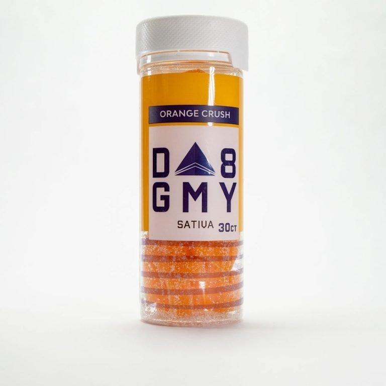 Delta-8 Orange Crush Ordinary Orange Gummies (750mg)
