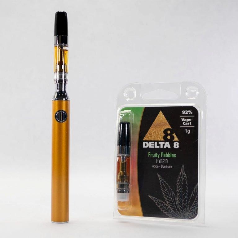 Delta-8 Vape Cartridge Fruity Pebbles (1ml - 92%)