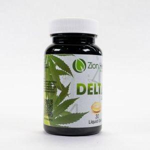 Zion Herbals Delta-8 Liquid Gel Caps (200mg)