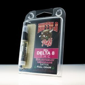 Buffalo Puff Strawberry Lemonade Delta-8 THC 92% Cartridge