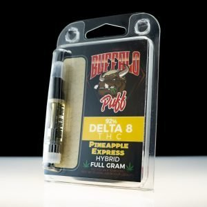 Buffalo Puff Pineapple Express Delta-8 THC 92% Cartridge