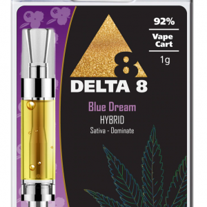 Delta-8 Vape Cartridge Blue Dream (1ml - 92%)