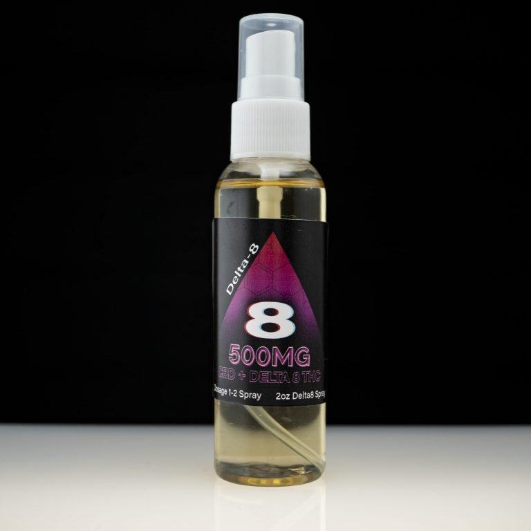 Delta 8 CBD mouth spray