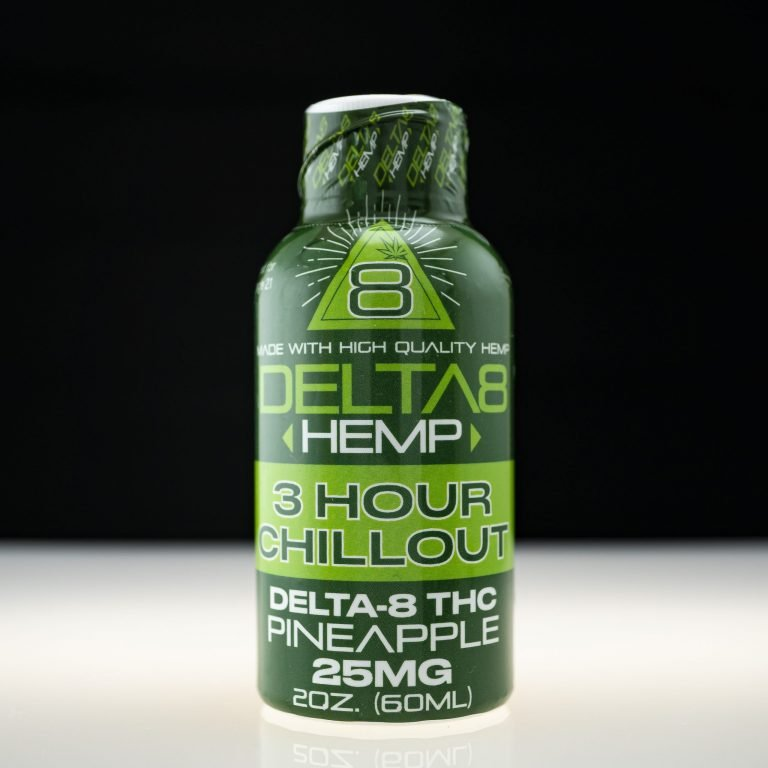 Delta 8 Hemp 3 Hour Chillout Extract - Pineapple 25mg